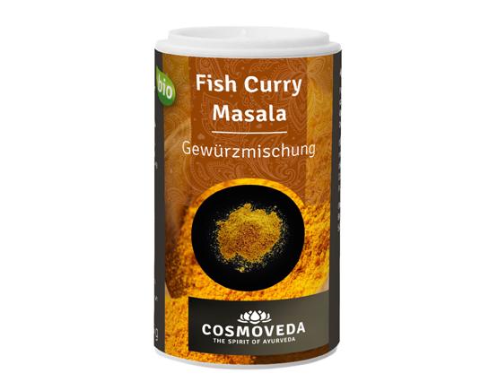 BIO Fisch-Curry Gewürzmischung, Indische Masala, Cosmoveda, 25g