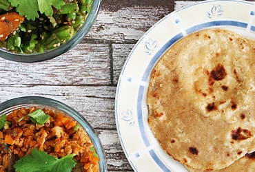 Chapati Rezepte ayurvedische Ernährung