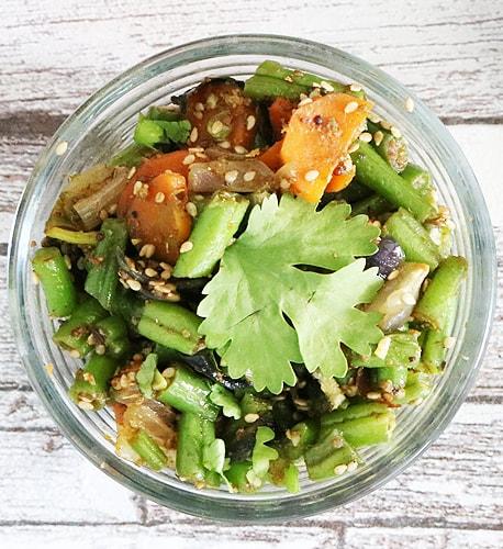 Vegetarische Gerichte Karotten Bohnen Curry Rezept